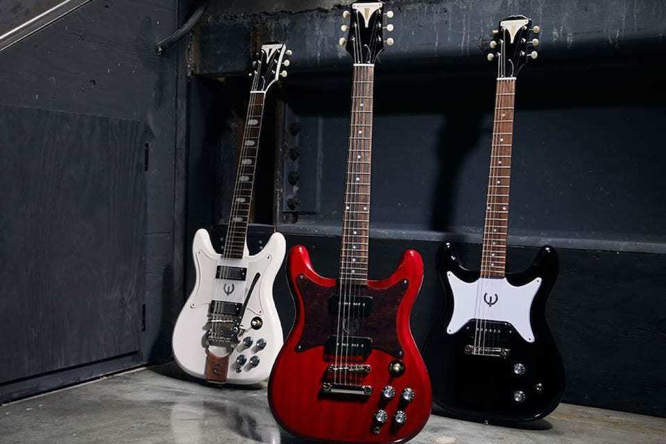 Epiphone продолжила гитарную серию Designer Collection тремя винтажными моделями Coronet, Wilshire и Crestwood
