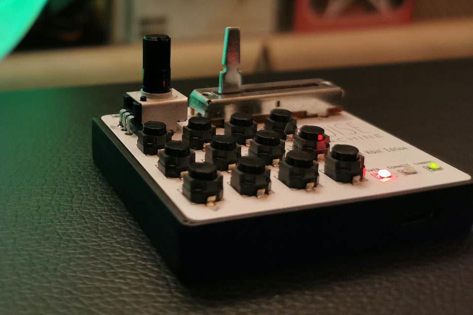 Noise Machine: карманный беспроводной MIDI-контроллер для музицирования на ходу