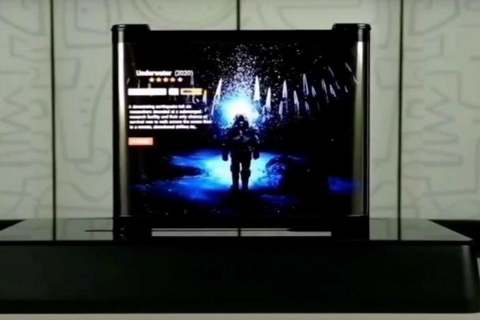 TCL показала разворачивающиеся по горизонтали OLED-дисплеи для телевизоров и смартфонов