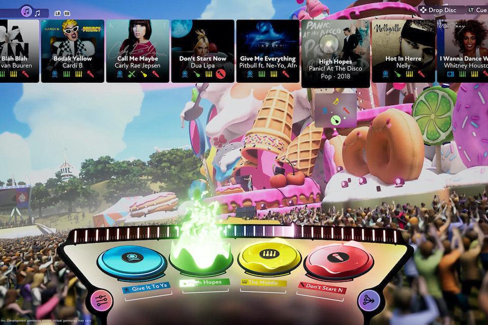 Fuser: игровой симулятор диджеинга