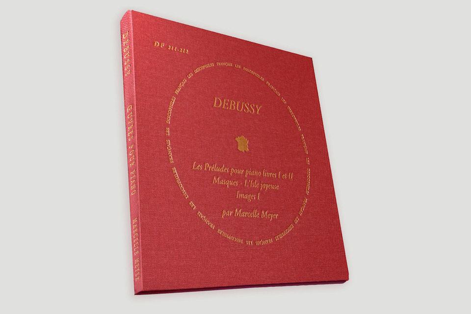 The French Record Company выпустила LP-альбом с неизданными оригинальными записями прелюдий Клода Дебюсси