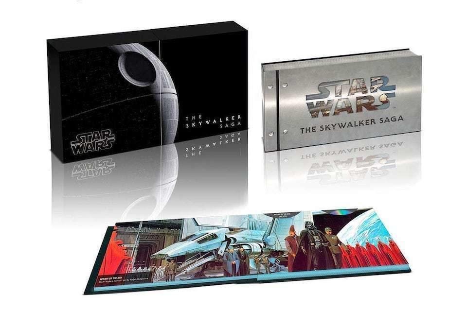 Вся сага о Звездных Войнах выйдет на UHD Blu-ray