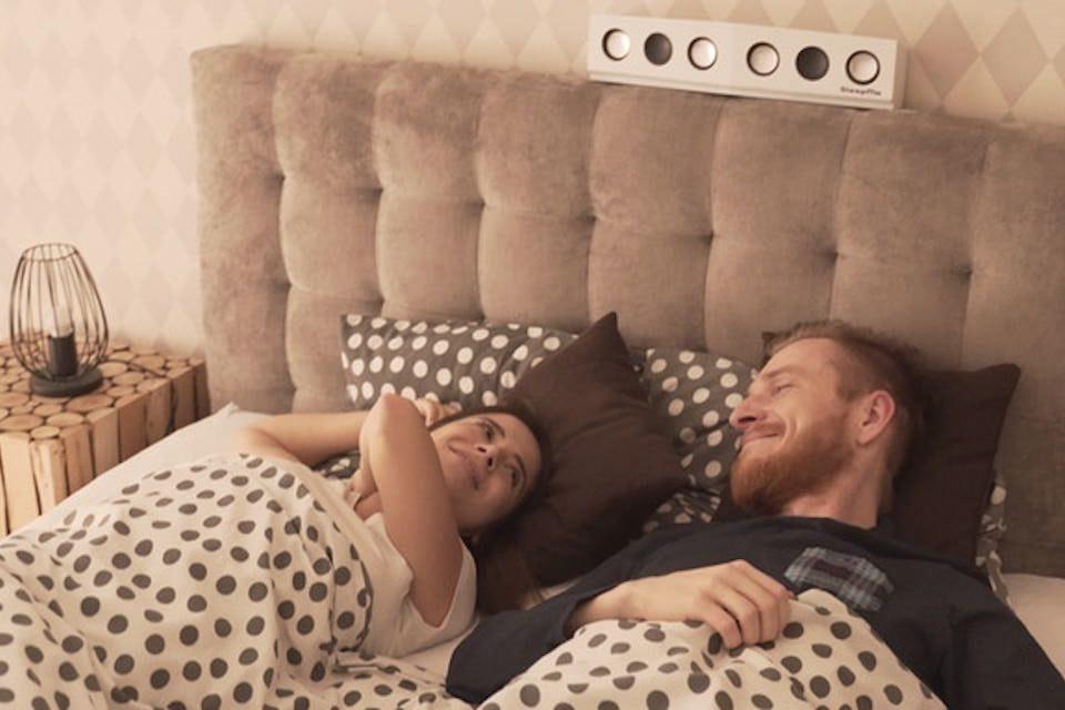 Bluetooth-колонка SleepMe с системой формирования акустического луча заглушит храп и повысит качество сна
