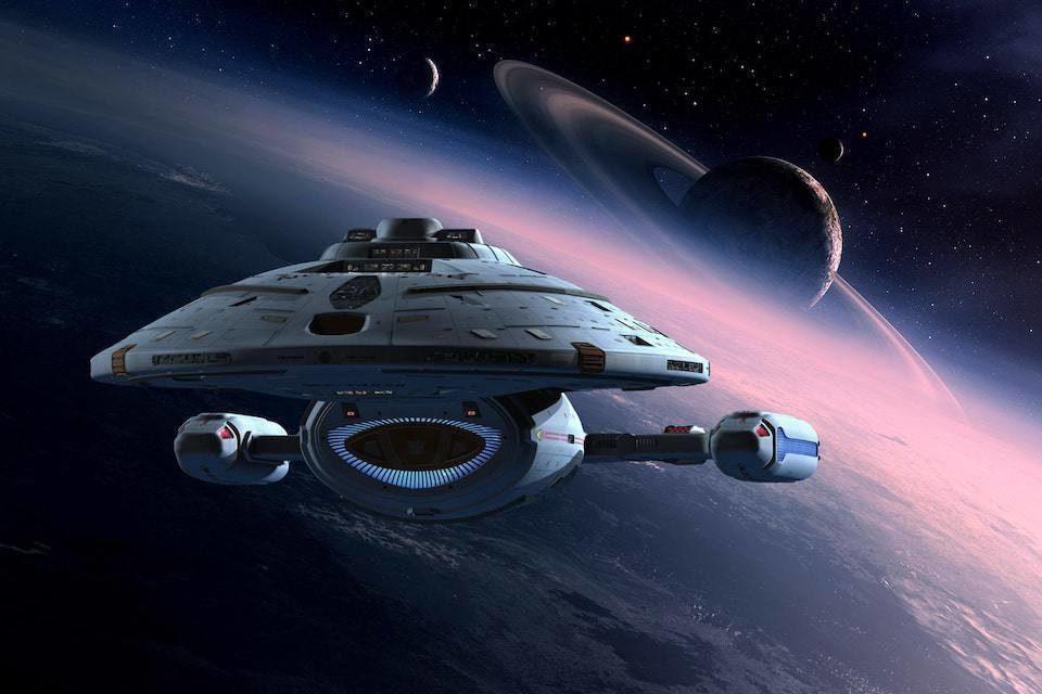 Фанат занялся ремастером сериала «Звездный путь: Вояджер» в 4K с помощью ИИ