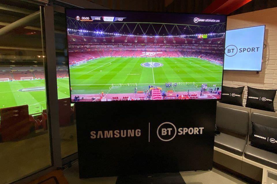 Samsung и BT Sport провели в Великобритании первую трансляцию с разрешением 8К