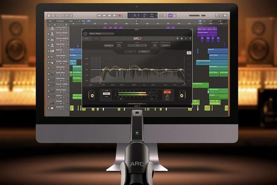 IK Multimedia представила систему акустической коррекции ARC System 3 для студий звукозаписи