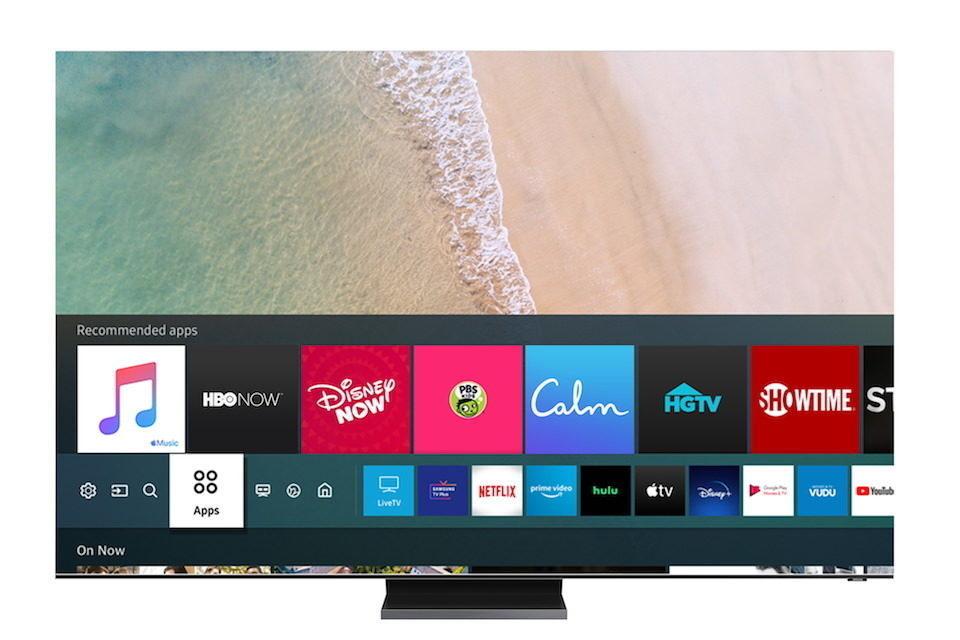 На телевизорах Samsung появилось приложение Apple Music