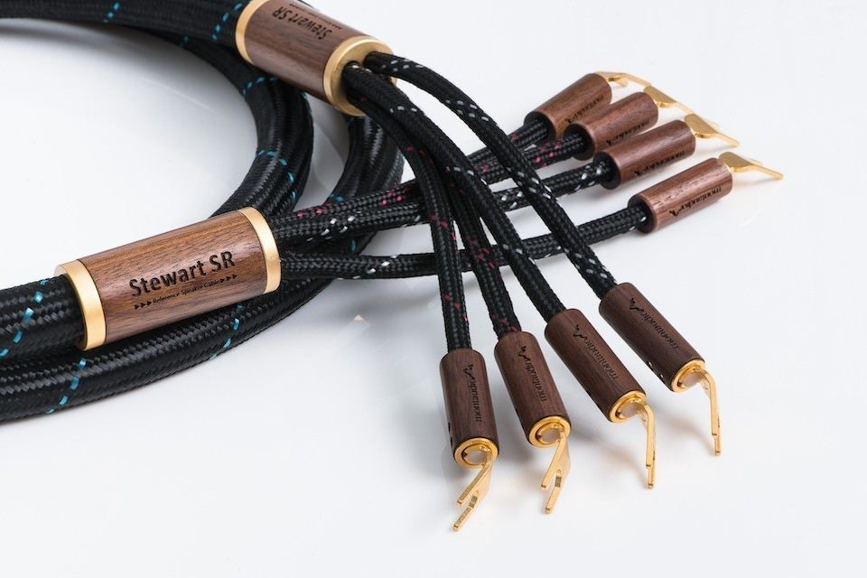 Акустический кабель Montaudio Stewart SR Reference: серебро и медь с холодной сваркой соединений
