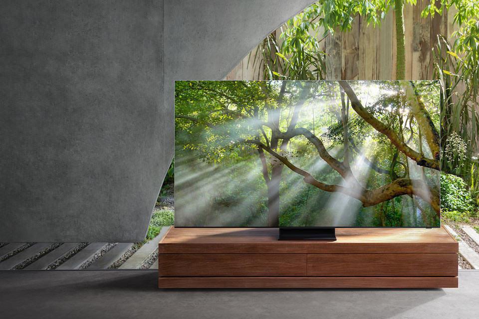 Линейка телевизоров Samsung 2020 года поступила в продажу в России