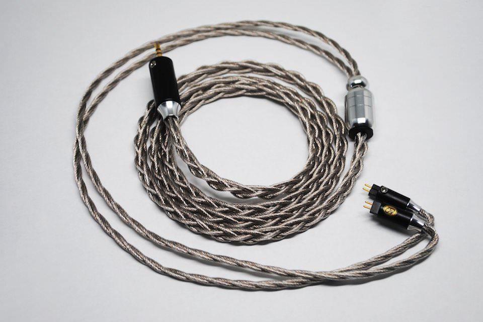 Кабель для наушников Palladium Plated Hybrid от Plussound Audio: медь и серебро в палладии Type 6 Litz