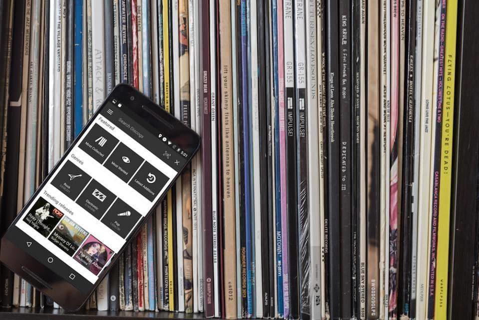 Интернет-площадка продаж винила Discogs обновила Android-приложение для работы с музыкальной коллекцией