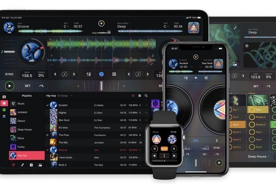 Djay Pro AI для iOS в реальном времени вырежет вокальные и инструментальные партии из песен
