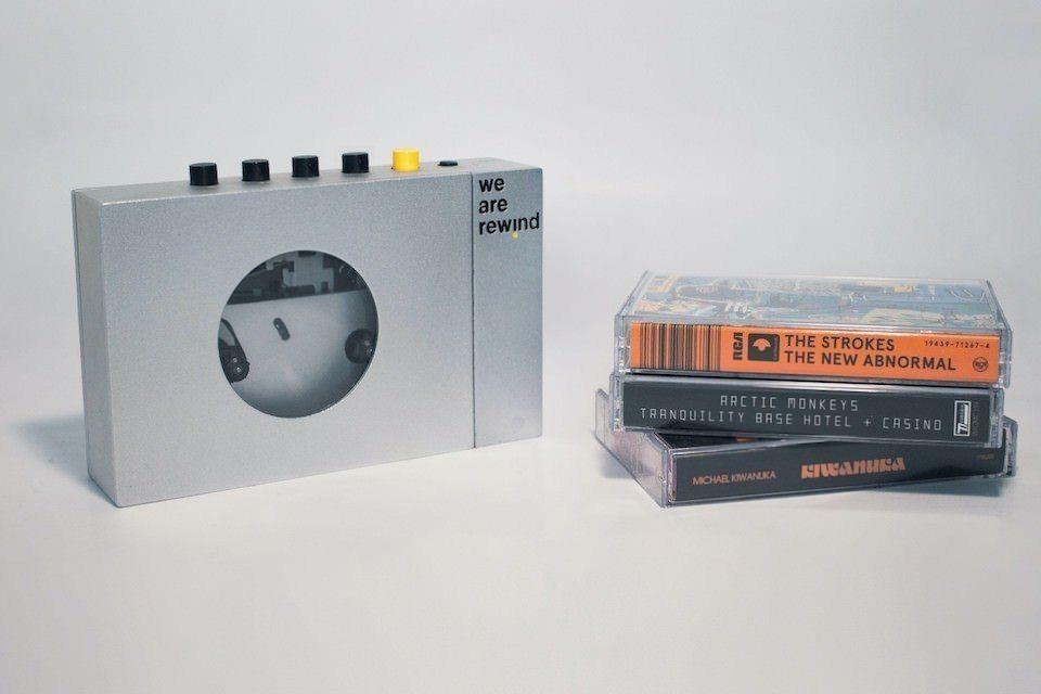 We Are Rewind: еще один современный портативный кассетный плеер