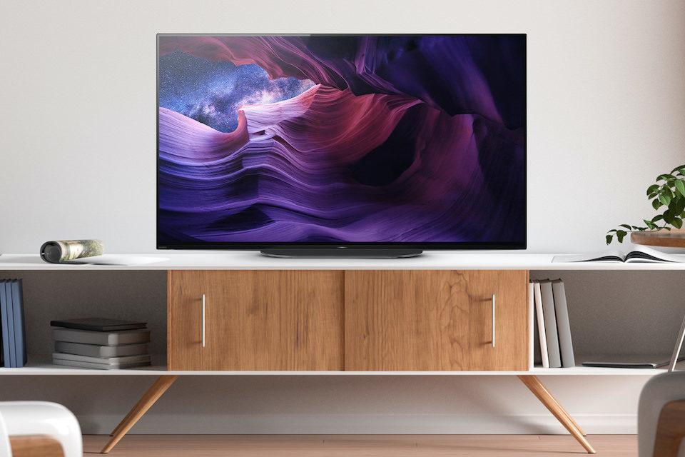Первой из долгожданной серии OLED-телевизоров Sony А9 появится 48-дюймовая модель