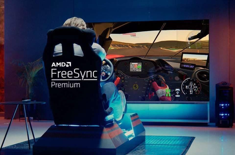 Новая прошивка телевизоров LG: поддержка FreeSync и доступ к ТВ-стандарту нового поколения