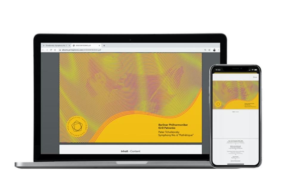 Стриминговый сервис классики Primephonic добавил в свой каталог цифровые буклеты