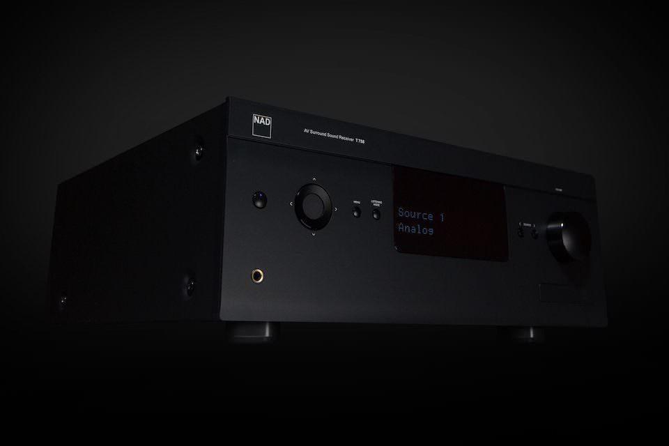 NAD представила обновленный AV-ресивер T 758 V3i с поддержкой Apple AirPlay 2