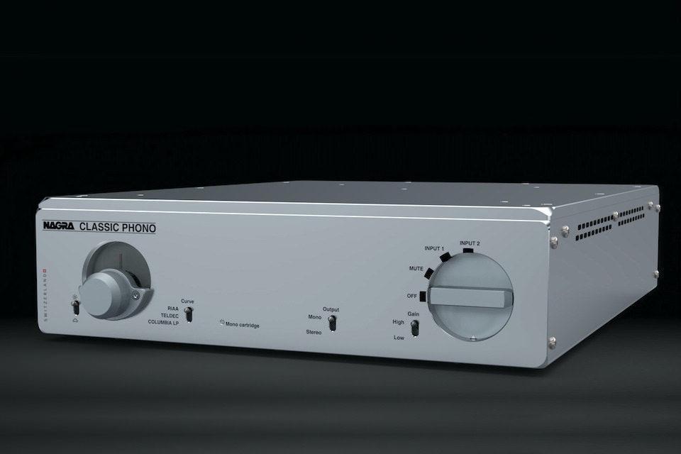 Nagra Classic Phono: ламповый фонокорректор класса A с новыми входными трансформаторами и блоком питания