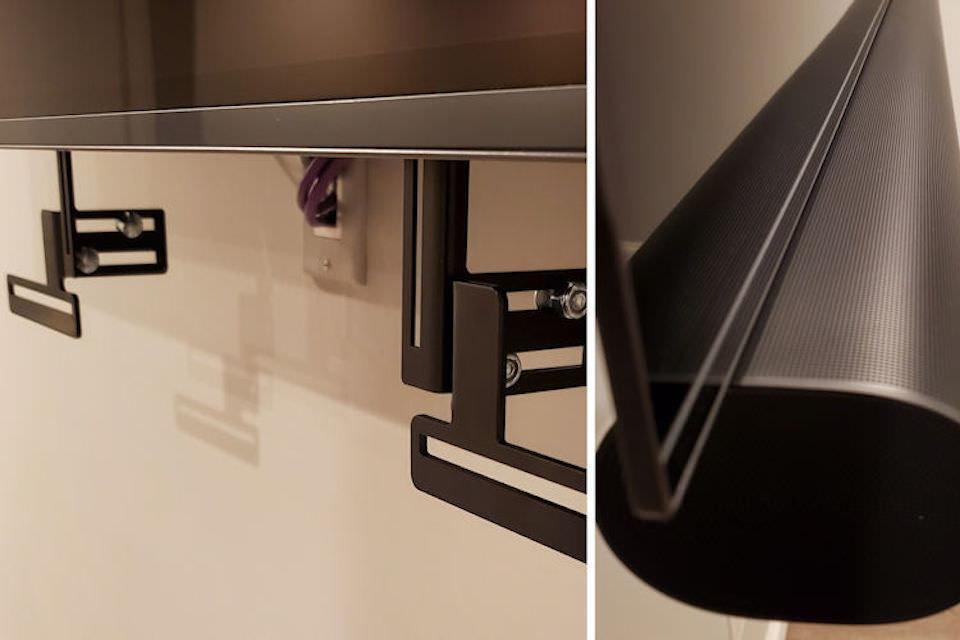 Next Level UM1-A: адаптер для крепления саундбара Sonos Arc к телевизору