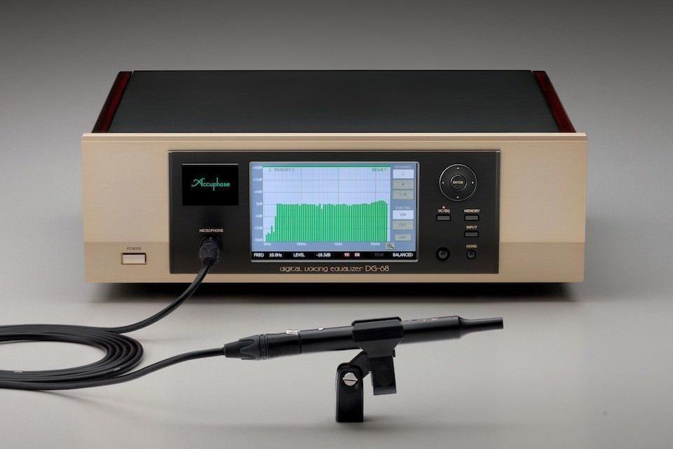Цифровой эквалайзер Accuphase DG-68: 40-битный DSP с плавающей запятой и сенсорное управление