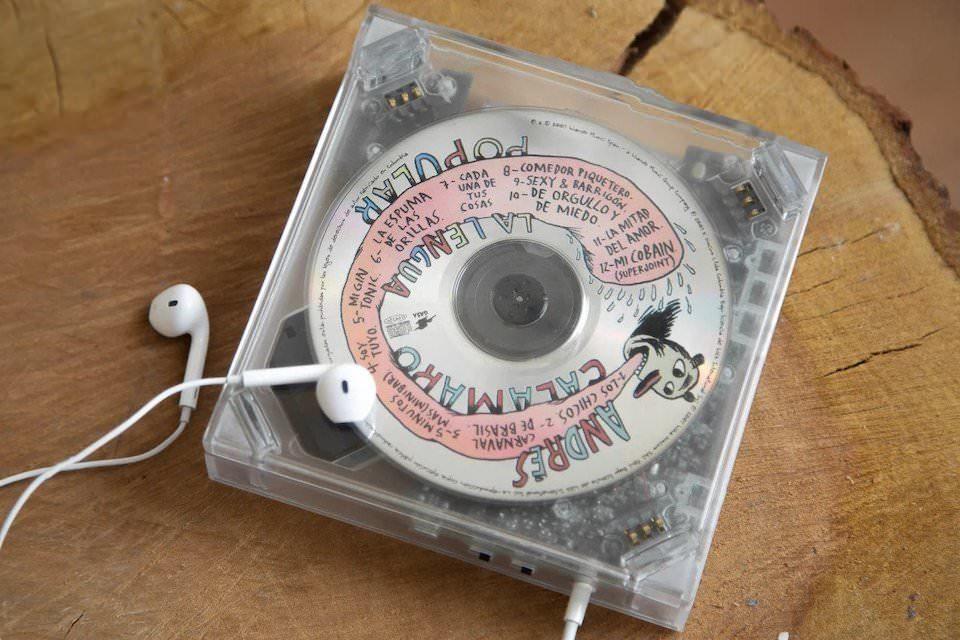 Long Time No See: портативный CD-плеер с Bluetooth