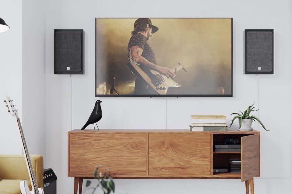 Активная настенная акустика DALI Oberon On-Wall C: компактная модель для телевизоров