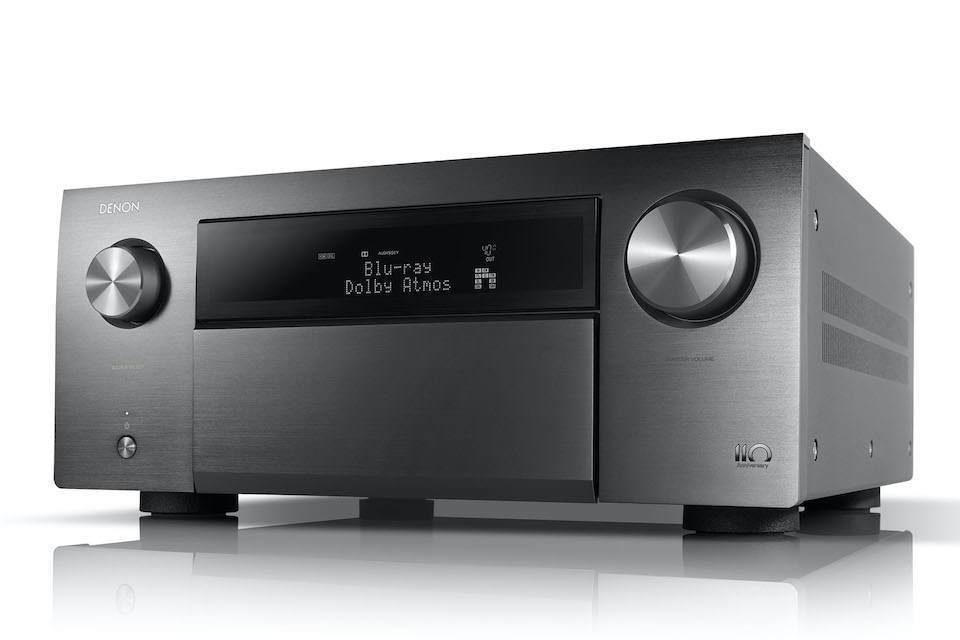 AV-ресивер Denon AVC-A110: быстрый звук, глубокий бас и бесконечные высокие