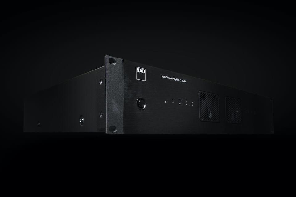 NAD выпустила 16-канальный инсталляционный усилитель CI 16-60 DSP