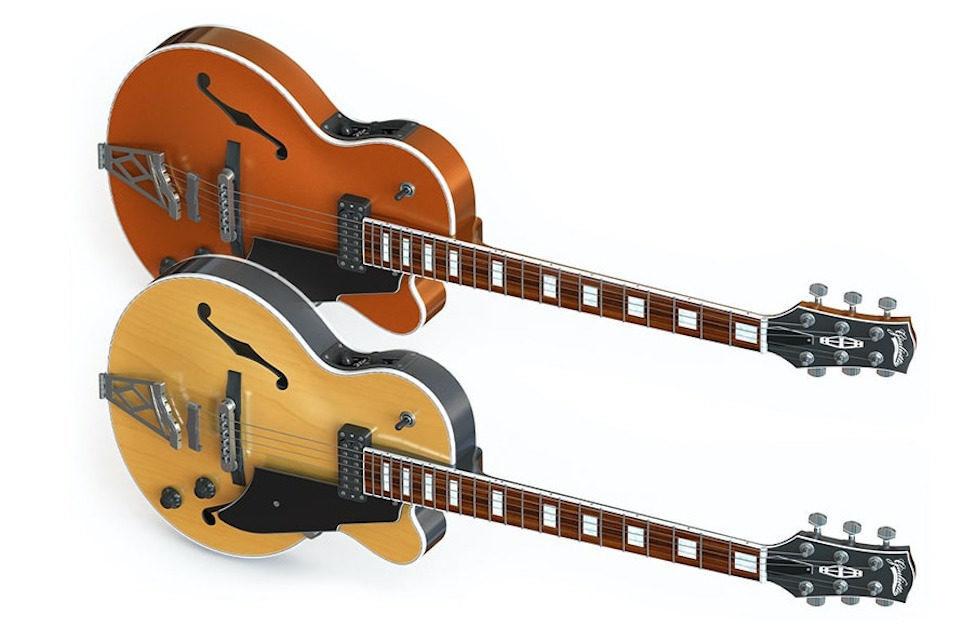 Vox анонсировала линейку полуакустических и электрических гитар на базе популярных ретро-моделей