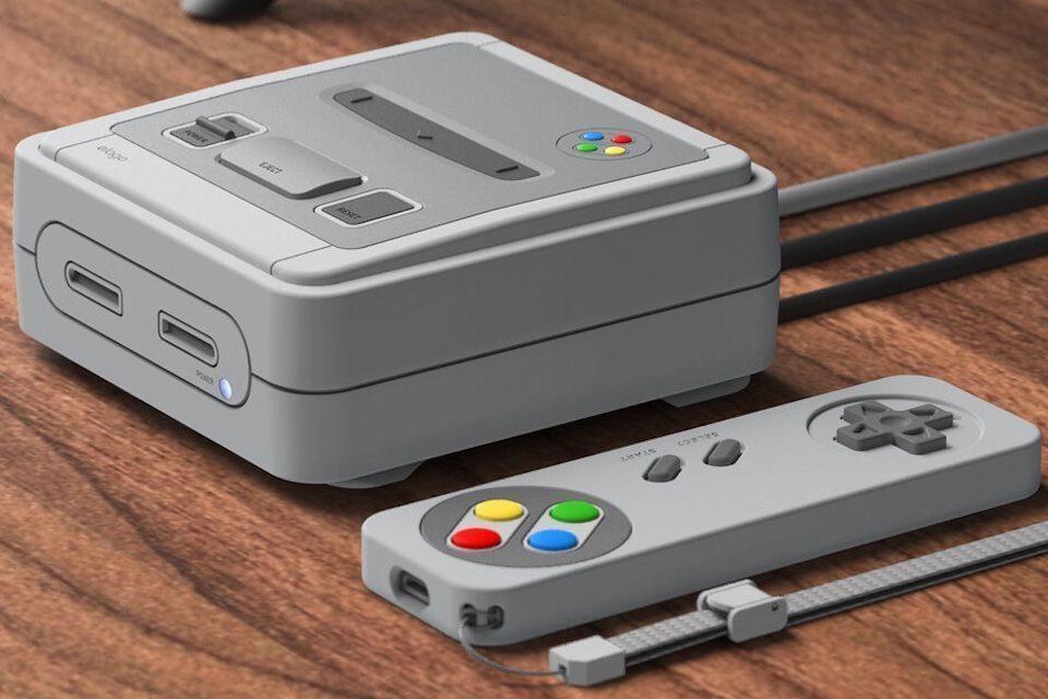 Кейс Elago T4 превратит приставку Apple TV в игровую консоль в стиле Nintendo SNES