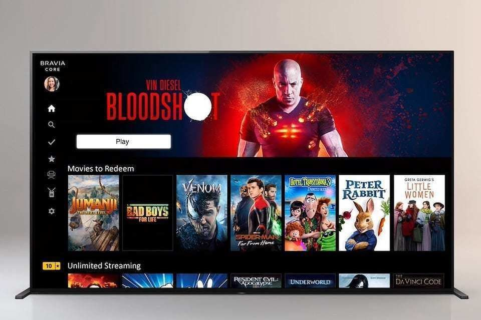 Sony анонсировала стриминговый сервис Bravia Core с близким к 4K Blu-ray качеством видео