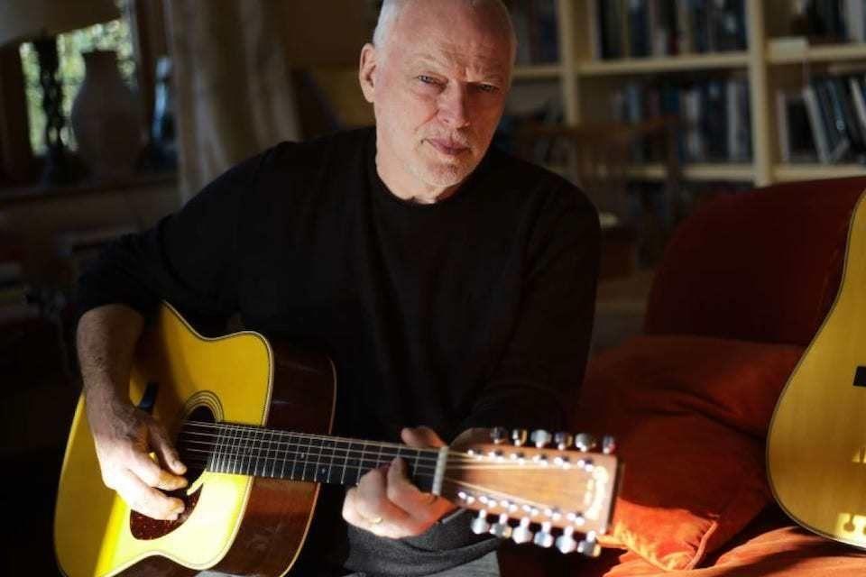 Martin D-35 David Gilmour: ограниченная серия подписных акустических гитар Дэвида Гилмора