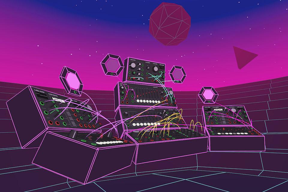 SynthVR: виртуальный модульный синтезатор для шлема Oculus Quest