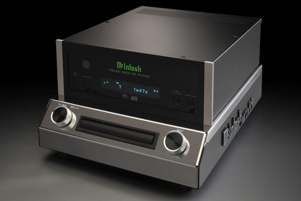 McIntosh выпустила CD/SACD-плеер MCD85 в пару к моноблокам MC830