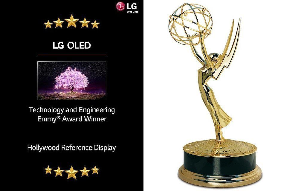 OLED-телевизоры LG получили инженерную премию «Эмми»