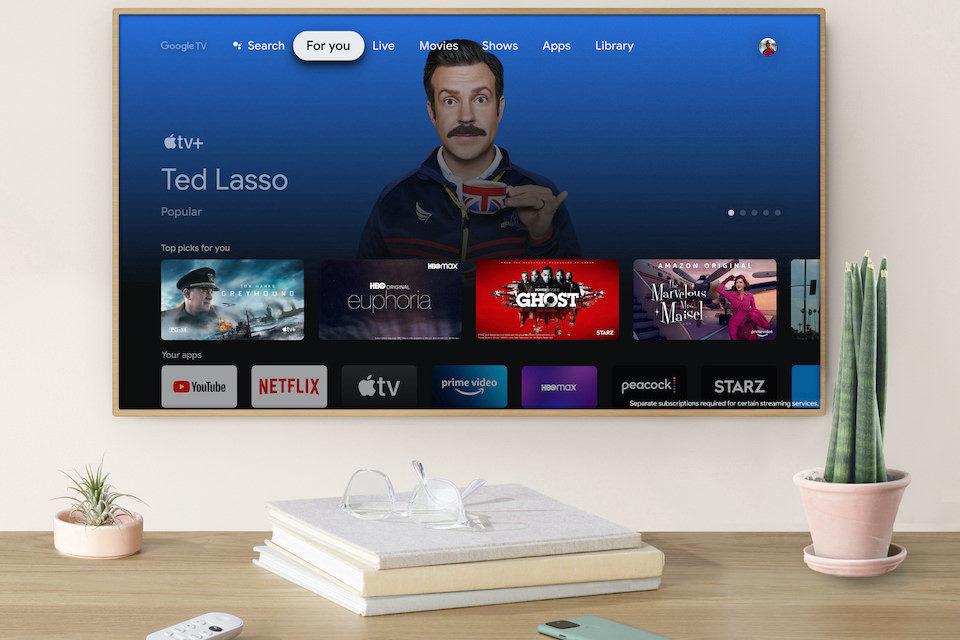 Приложение Apple TV появилось в приставках Google Chromecast с Google TV