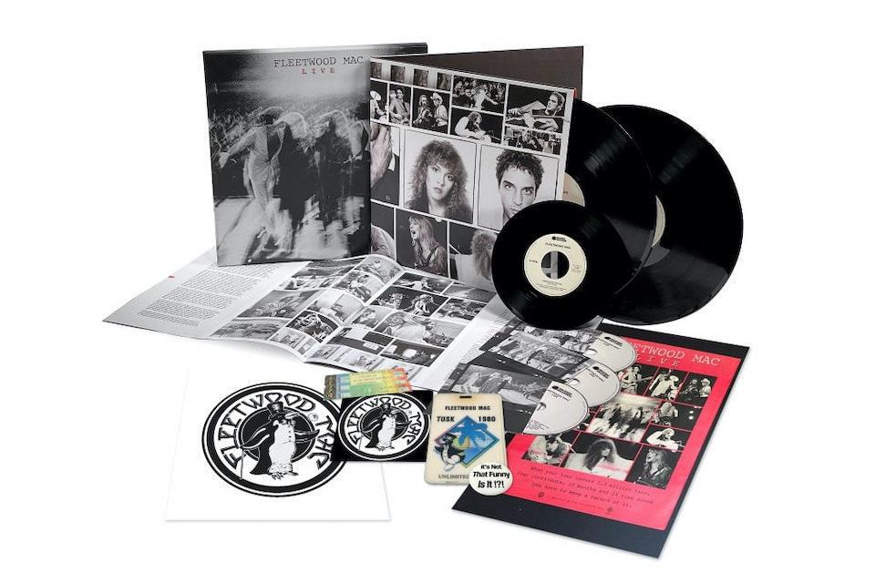 Альбом «Fleetwood Mac Live Super Deluxe Edition» выйдет на лейбле Rhino
