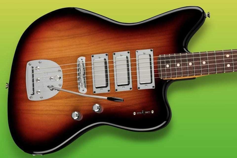 Fender закончила «путешествие по параллельной вселенной» гитарой Spark-O-Matic Jazzmaster