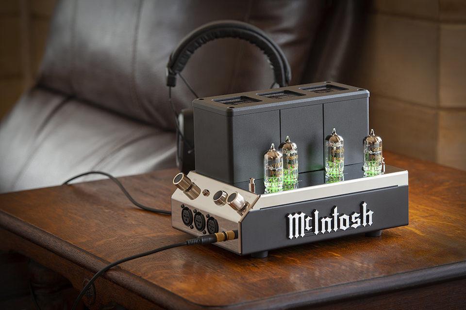 McIntosh анонсировала ламповый усилитель для наушников MHA200