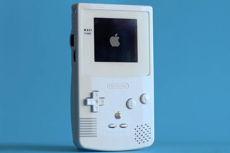Из Game Boy Color сделали пульт для Apple TV