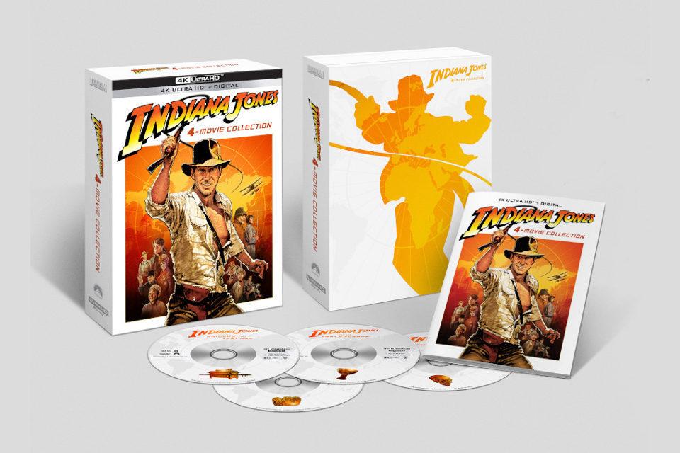 Фильмы об Индиане Джонсе выйдут на Ultra HD Blu-ray в 4K этим летом