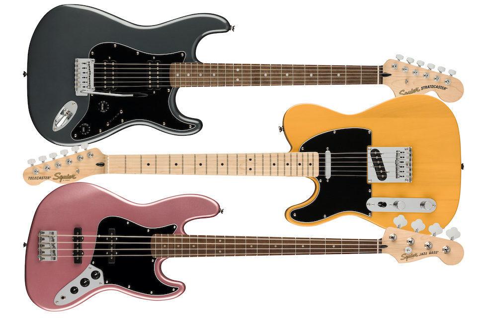 Fender расширила линейку бюджетных электрогитар Squier Affinity Series