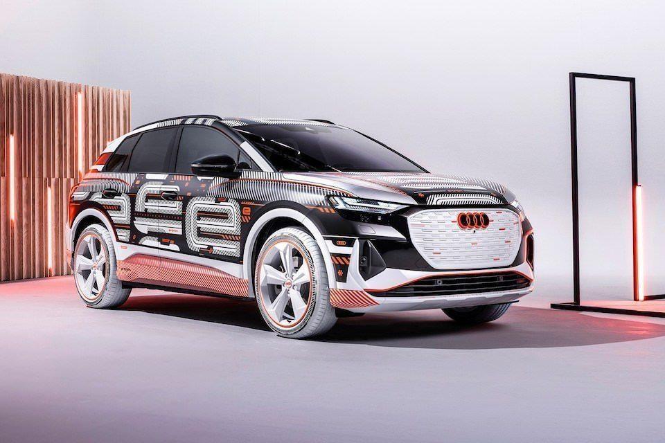 Аудиосистема Sonos появится в электрокроссовере Audi Q4 E-Tron