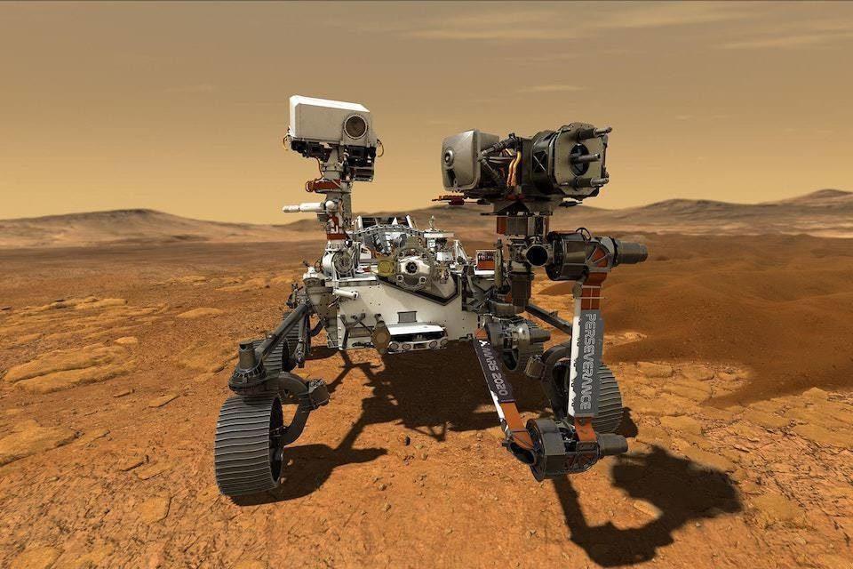 Еще больше звуков с Марса: NASA опубликовала аудиозаписи поездки Perseverance по поверхности планеты