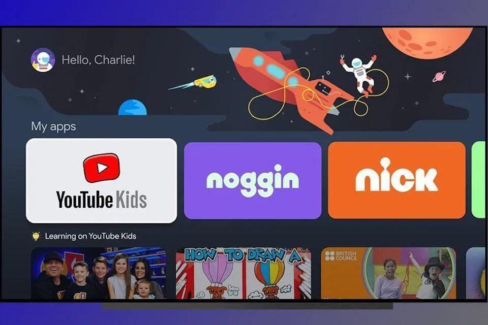 В Google TV появится возможность создания детских профилей с дистанционным контролем