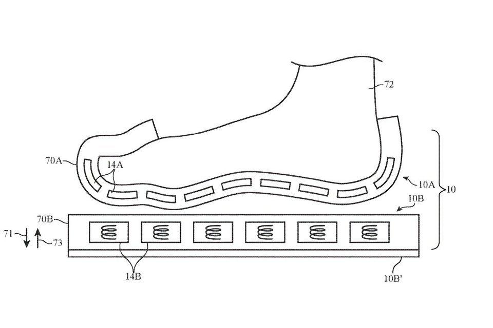Apple запатентовала носки дополненной реальности