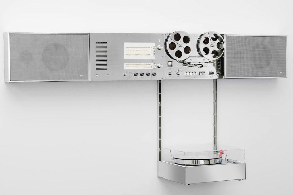 К 100-летию Braun систему Wandanlage 1965 года превратили в предмет искусства
