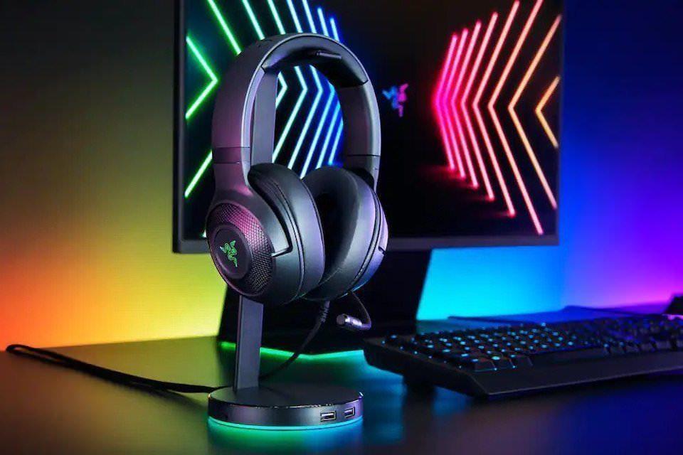 Игровые наушники Razer Kraken V3 X: улучшенные излучатели TriForce, звук 7.1 и амбушюры с эффектом памяти