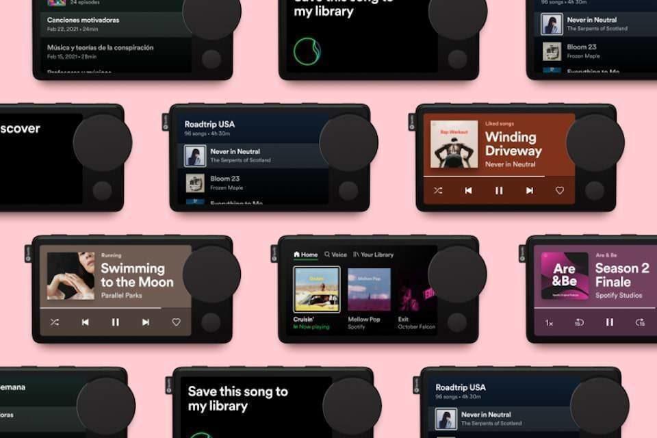 Spotify официально представил автомобильный плеер Car Thing