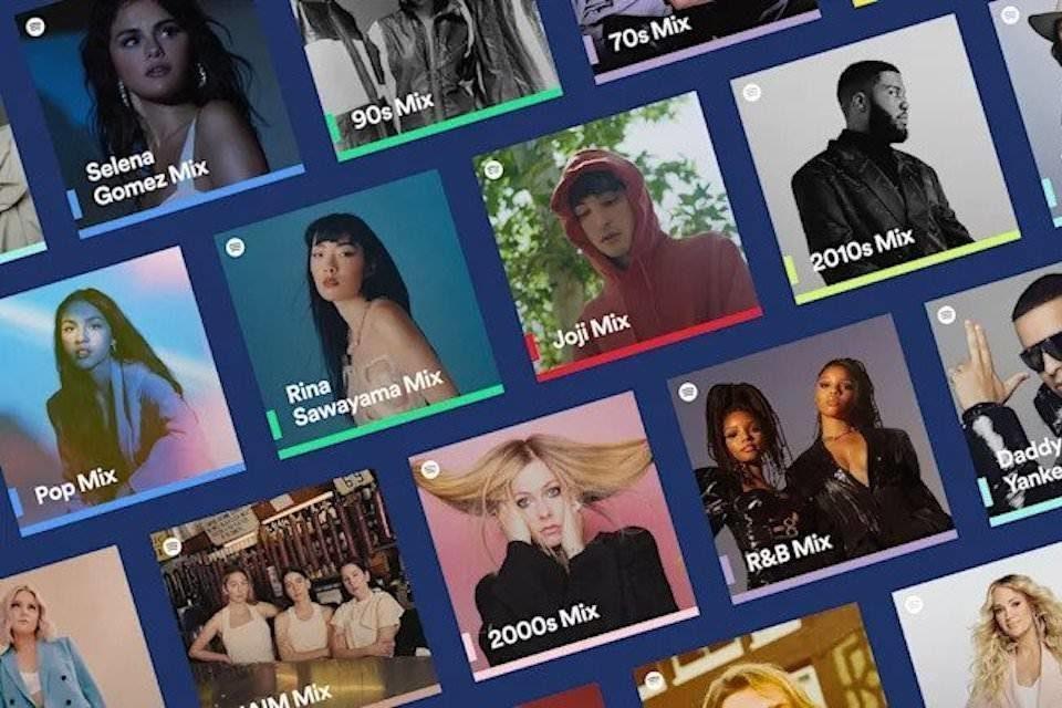 В плейлистах Spotify «Микс дня» появились еще три категории